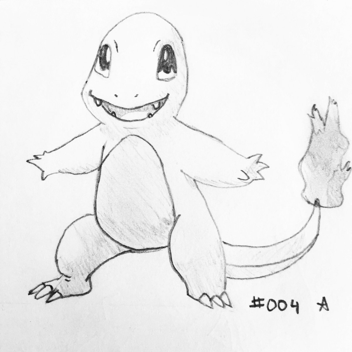 S on twitter day 004 charmander pokemon charmander
