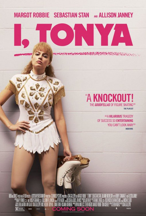 Finally time to see this!!  With personal favorites @AllisonBJanney and @bobbycannavale ! Excited. #ITonya