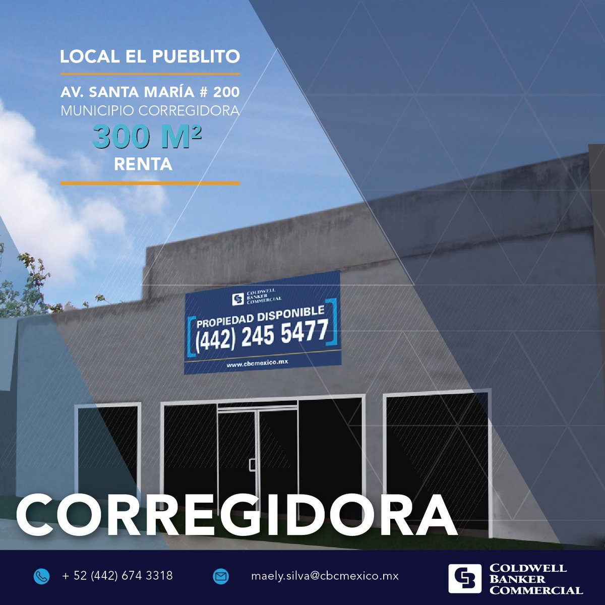 Coldwell Banker On Twitter Local Comercial En El Pueblito