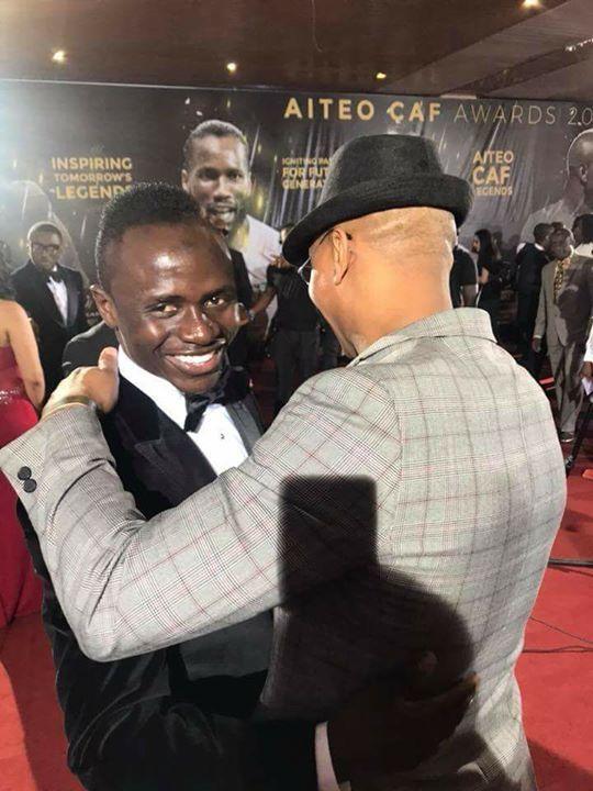 CAF Awards 2019: El Hadji Diouf révèle enfin ce qu'il a dit à Sadio Mané