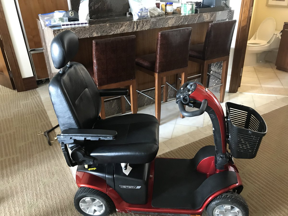 Got my groceries Got my scooter  Ready to go for #PCA2018