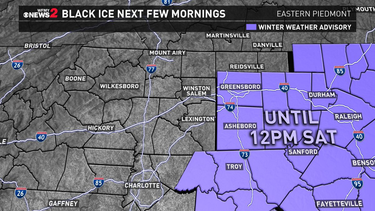 First Warning Forecast: Tracking frigid temperatures overnight