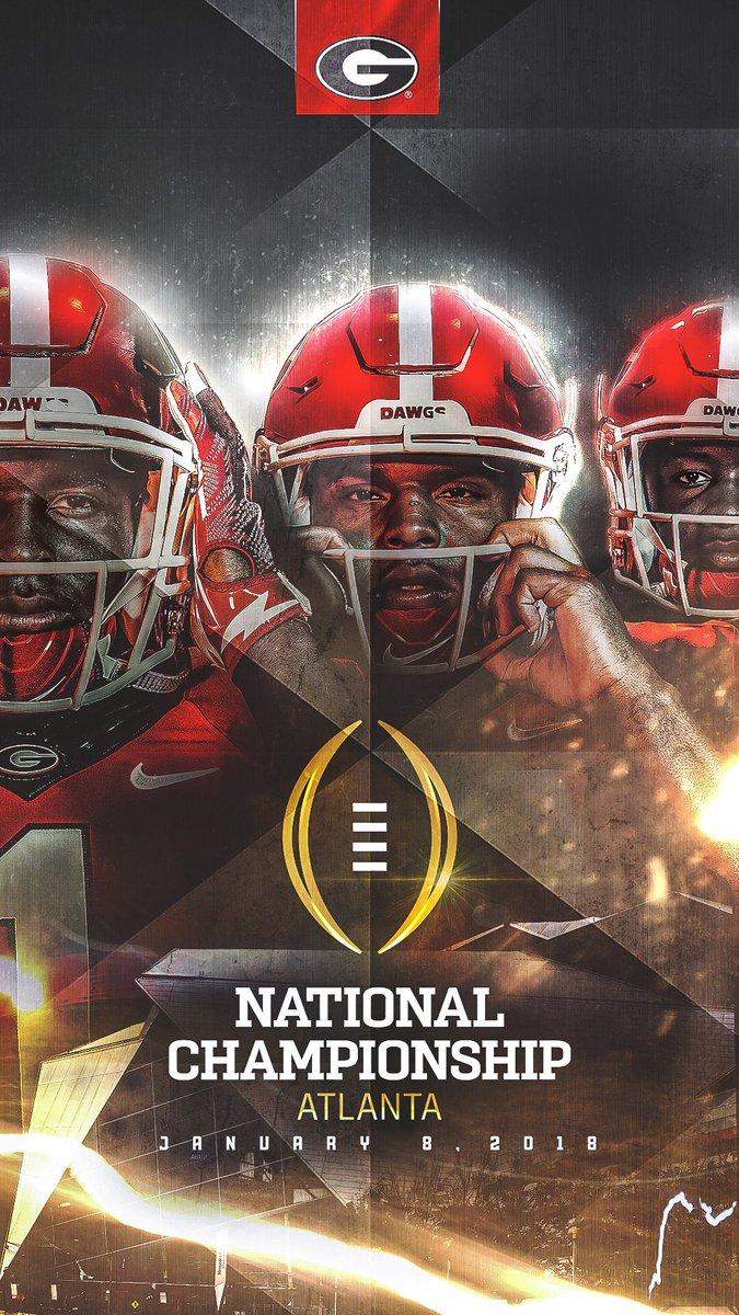 Georgia Football On Twitter New Wallpaper ATD GoDawgs NationalChampionship