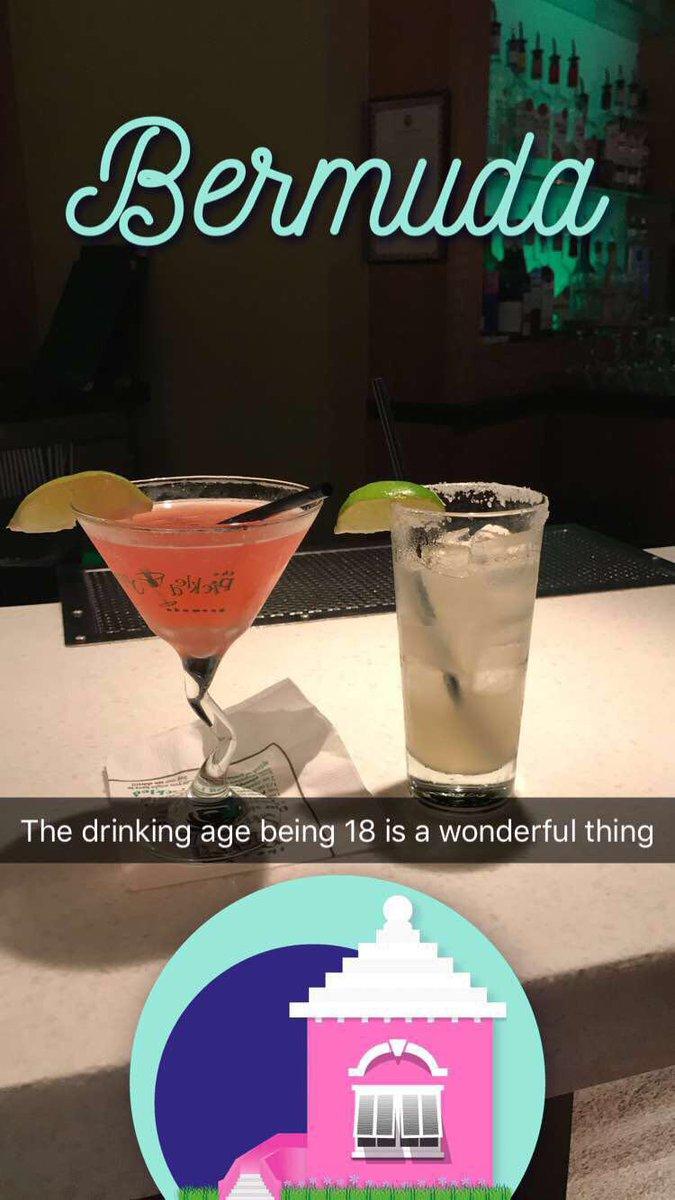 Lauren Blanchard Lblanchard Twitter - Bermuda drinking age