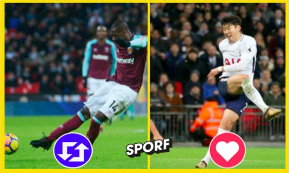 RT @Sporf: VOTE: Which strike was the best? 🤔⚽️🚀  🔁 RT - Pedro Obiang ⚒ ♥️ Like - Son Heung-Min ⚪️ https://t.co/gZwxKTiGxK