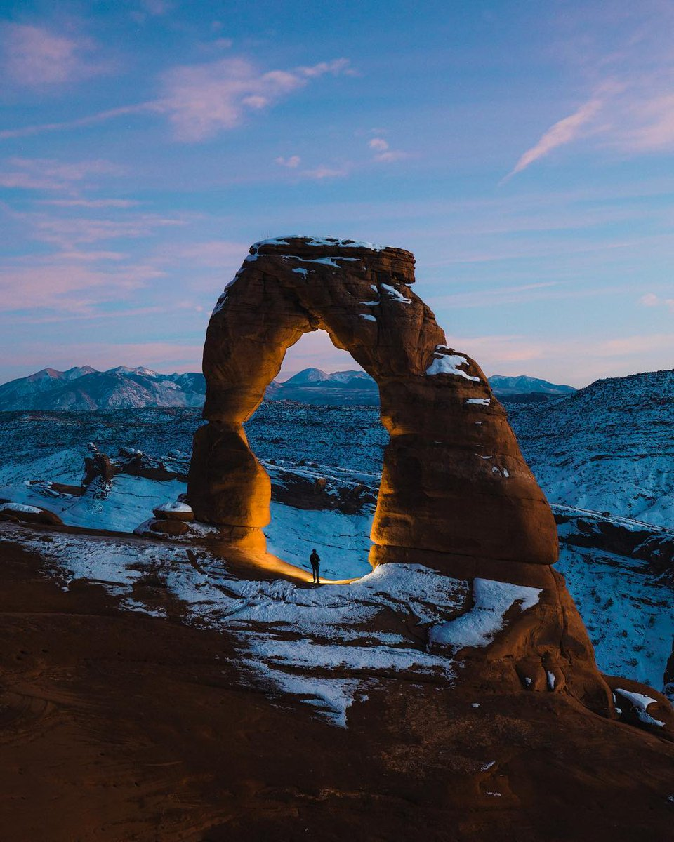Blue hour at Delicate Arch 🇺🇸  (📸➡️ by D...