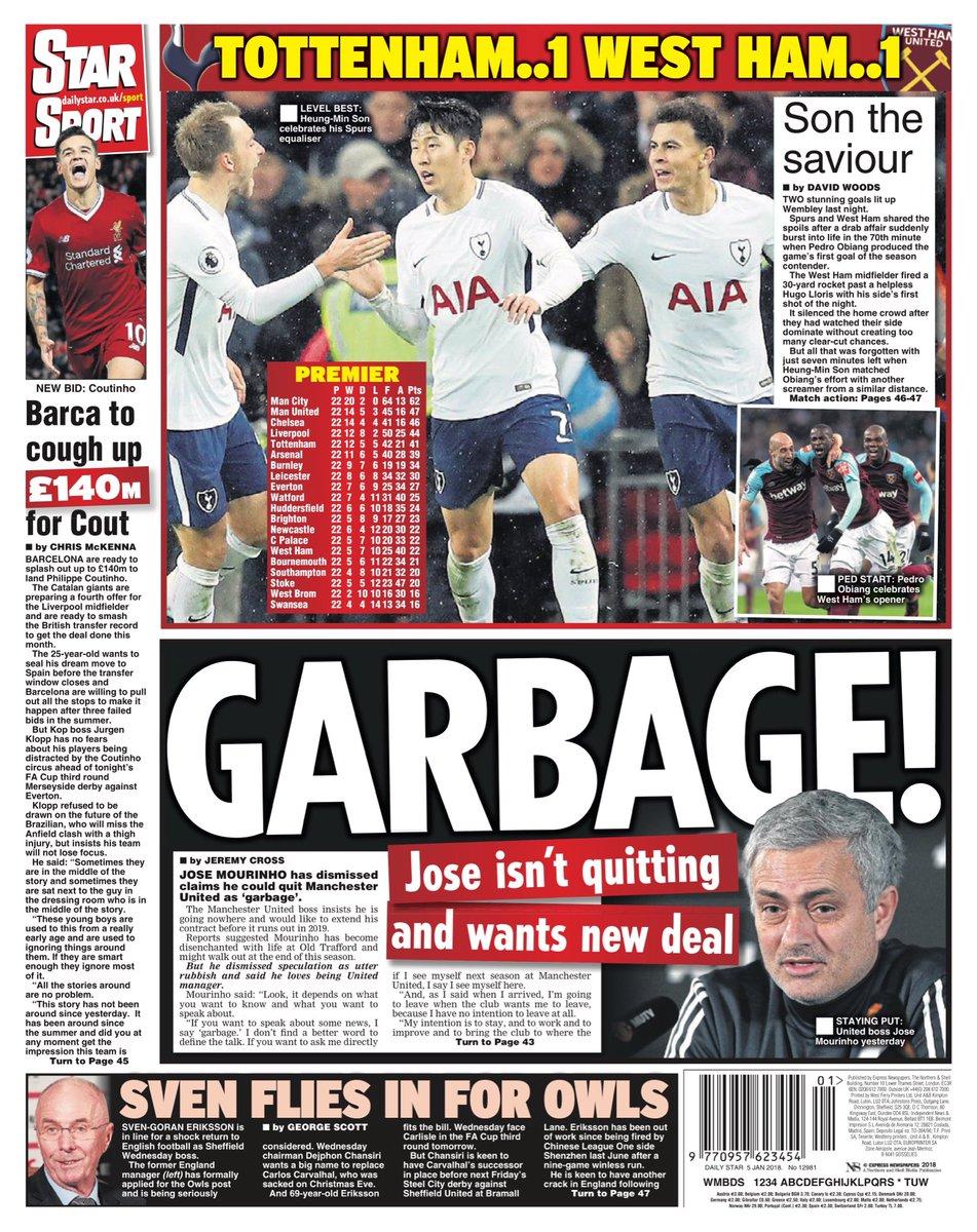 Mourinho kan lamna united efter brak