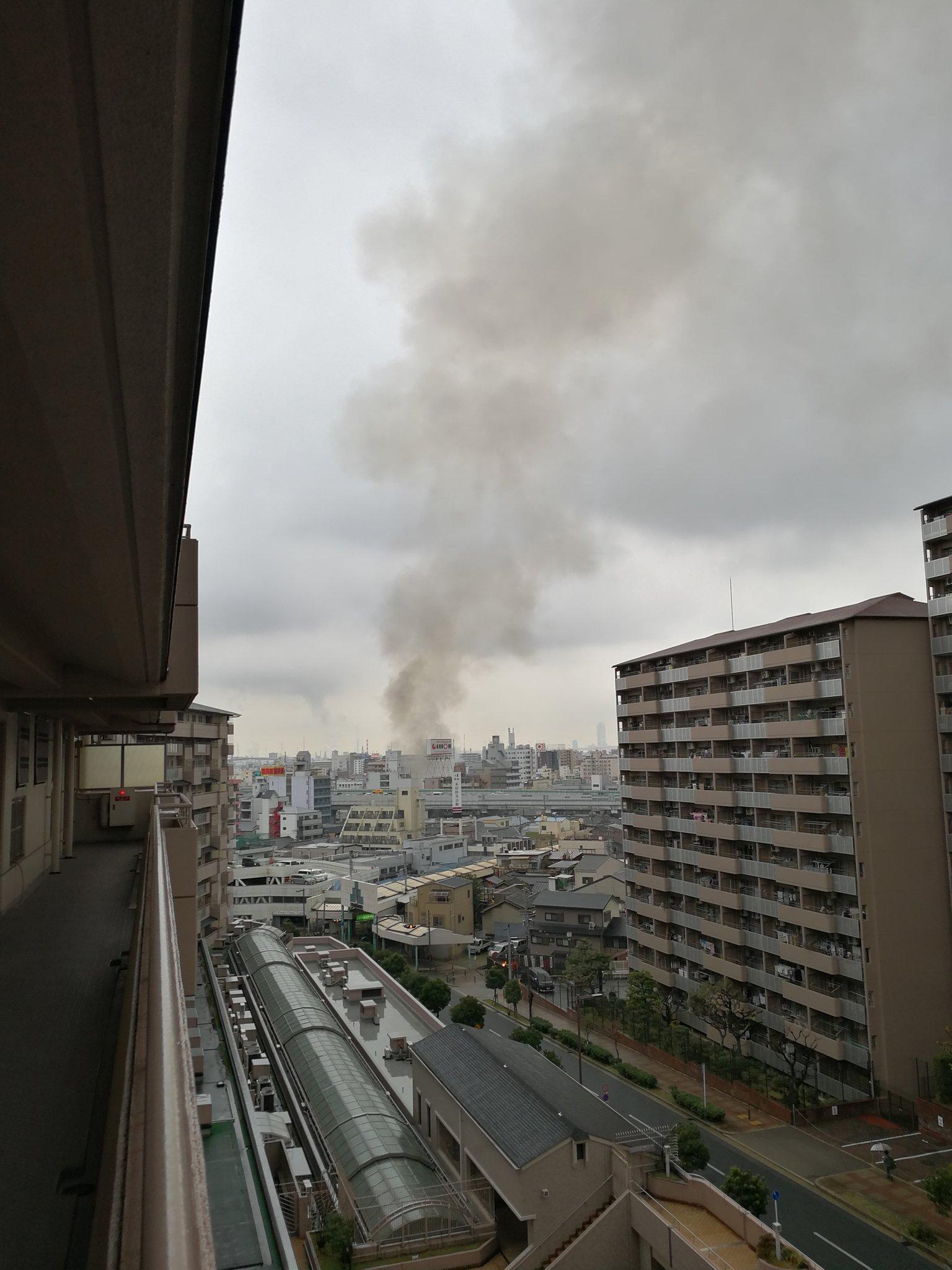 画像,西成で火災#西成 #火災 #火事 #大阪市 #大阪 https://t.co/rc9YDGEDYm。