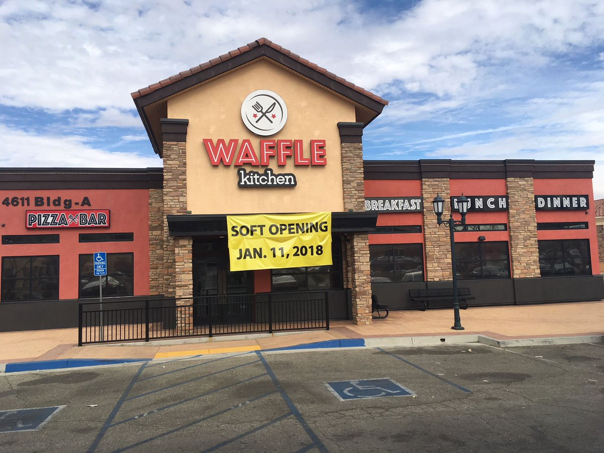 Palmdale On Twitter Two New Waffle Restaurants Crispin En Waffles Blvd 6th St E And Kitchen Ave