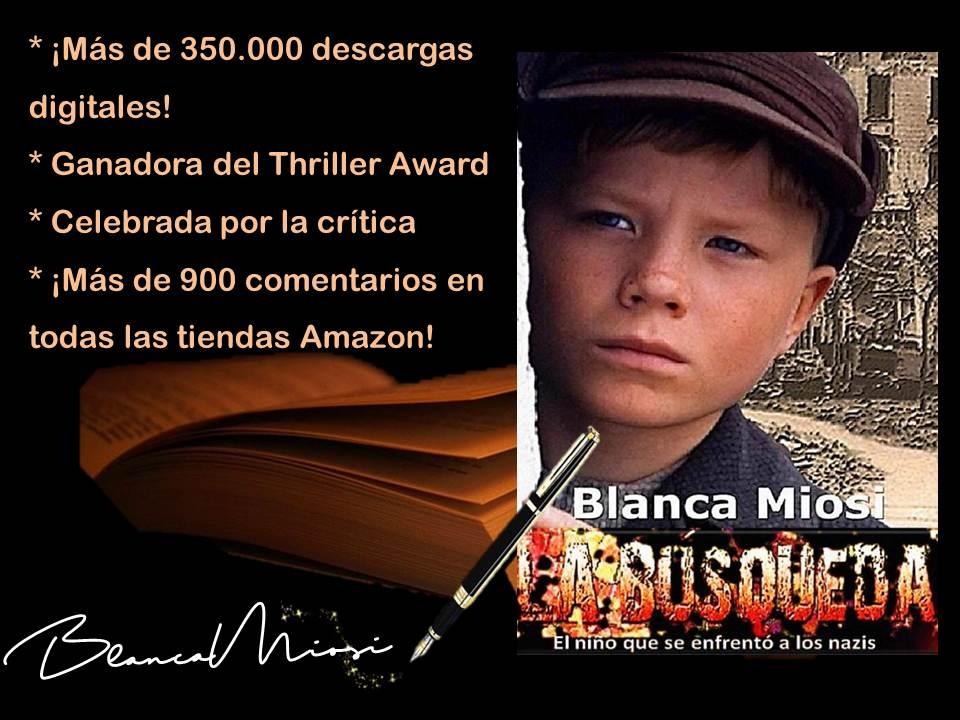 """""""Un libro que vale la pena leer"""": LA BÚSQUEDA de @BlancaMiosi http://viewBook.at/LABUSQUEDA Una vida, una historia  #MIami #Orlando #Boston #Chicago #SanFrancisco #LA"""