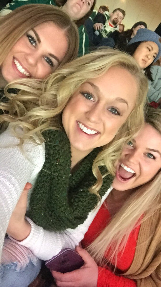 Twitter - First wild game!! 🏒❤️ #LiveFearlessmn https://t.co/BsnUqlBFVj
