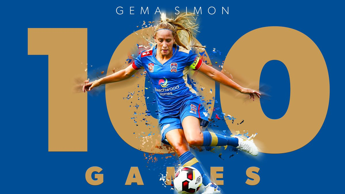 Gema Simon notched a major Westfield W-League milestone against Sydney FC this week.   Simon joins the 100 club ➡️ https://t.co/FRfIgWY6qT