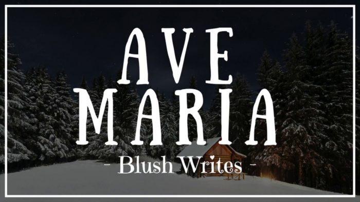 Live Love Guitar On Twitter Blushwrites Avemaria Guitar Chords