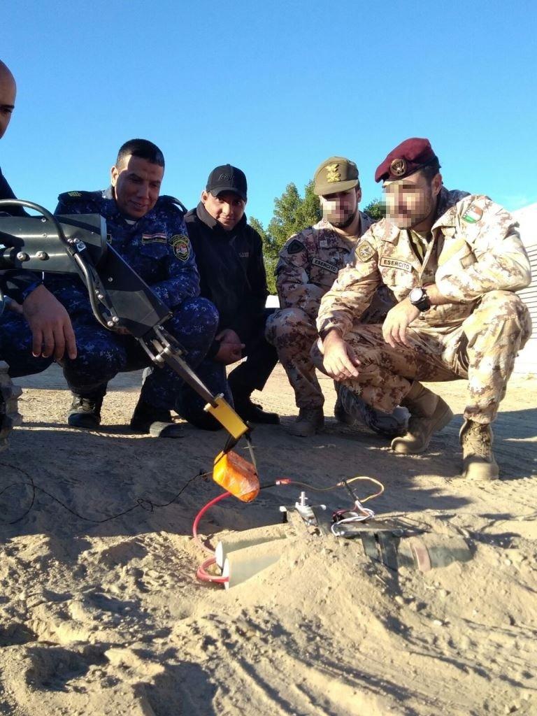دعم تسليحي وتدريبي ايطالي للجيش العراقي  DSwyLXMXkAEyB8C