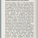 Exklusive Auszüge aus der deutschen Übersetzung von Fire and Fury. Viel Spaß damit.