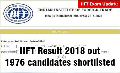 #IIFTResult2018: Declared on January 5 with shortlist of 1976 candidates; download to check #cutoff @ http://www.mbauniverse.com/article/id/10586/cat-results-2017-out…