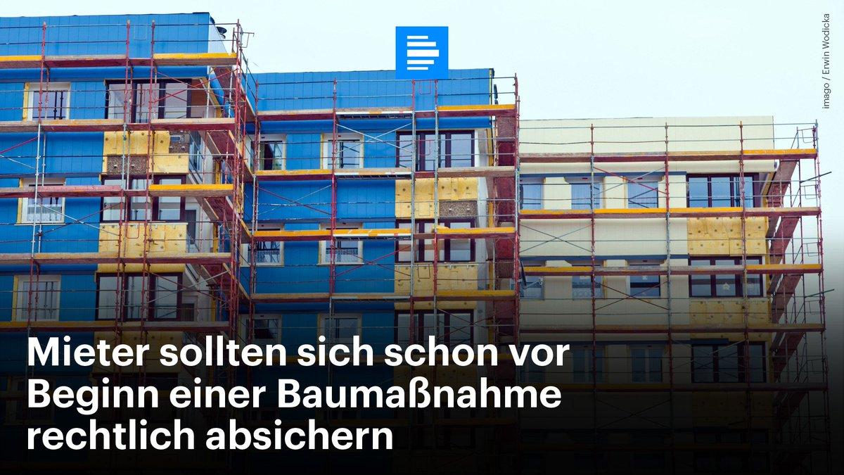 Deutschlandfunk On Twitter Wenn Vermieter Umbauarbeiten In Haus