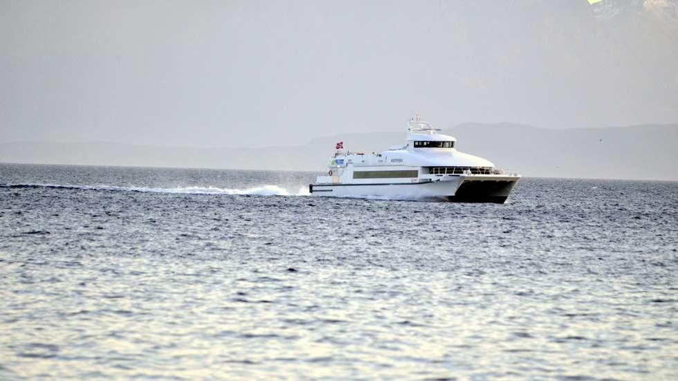 Hurtigbåt finnsnes harstad