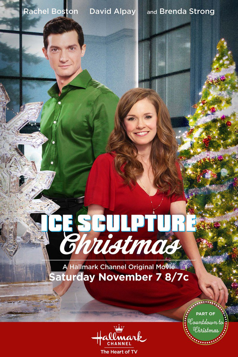 second act kiss teaches legit ice sculpting in a cooking movie brenda strong being sweet crushes unscripted dishwashing quip cameo from talk abouts - Hallmark Christmas Village