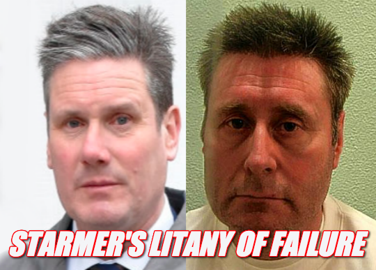 Keir Starmer's Litany of Failure as Director of Public Prosecutions: https://t.co/pYJNIvfppP