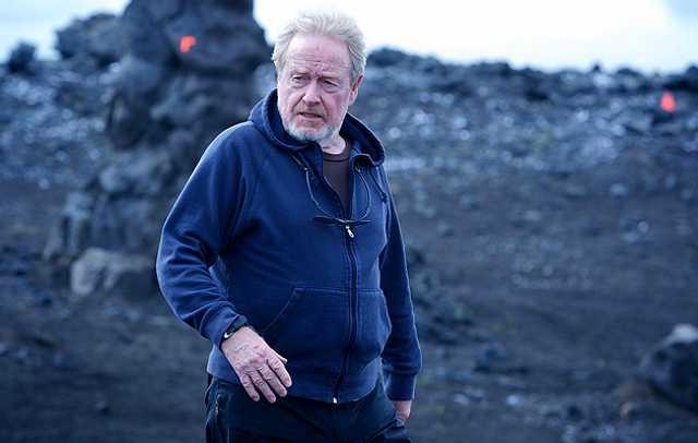Has Ridley Scott fallen under #Merlin's...