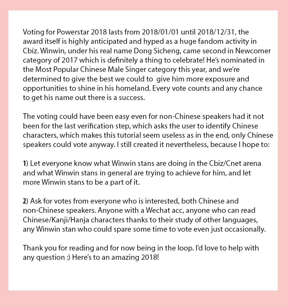 on twitter tutorial voting for winwin on weibo 231 am 5 jan 2018 biocorpaavc