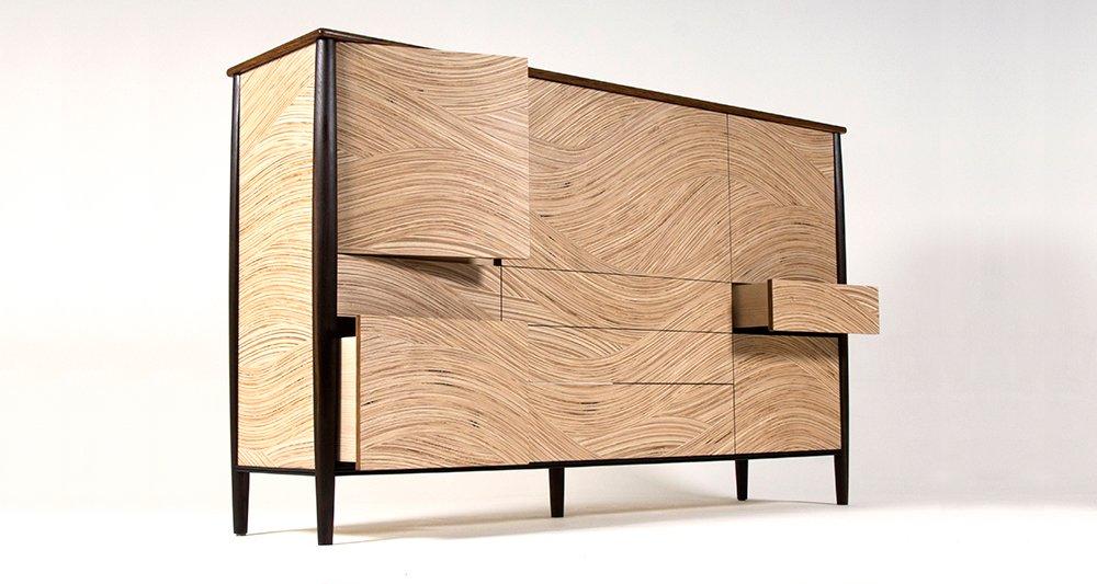 Murano Sideboard In Ash And Fumed Oak  Http://www.ejbespokefurniture.co.uk/furniture/murano Ash Fumed Oak/ U2026  #contemporaryfurniture #bespokefurniture #design ... Design