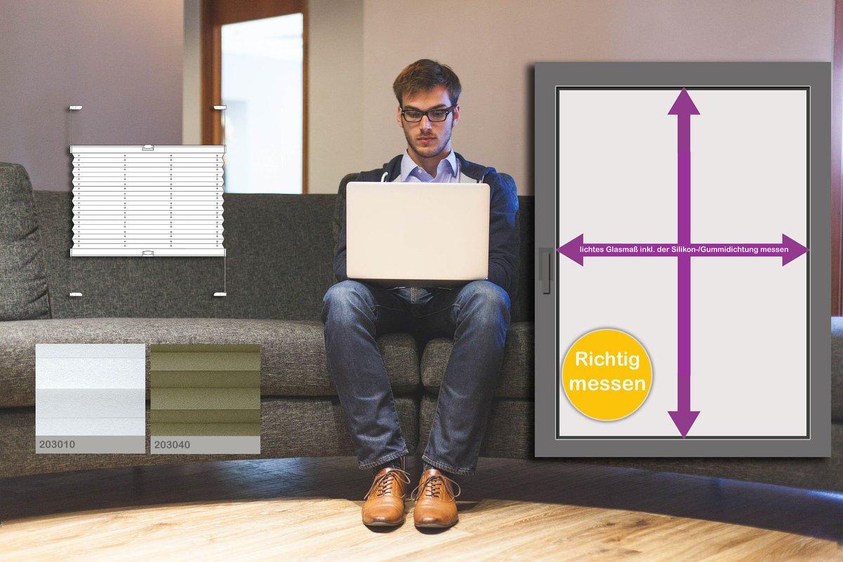 plissee richtig ausmessen richtig messen with plissee richtig ausmessen decolia verspannt ohne. Black Bedroom Furniture Sets. Home Design Ideas