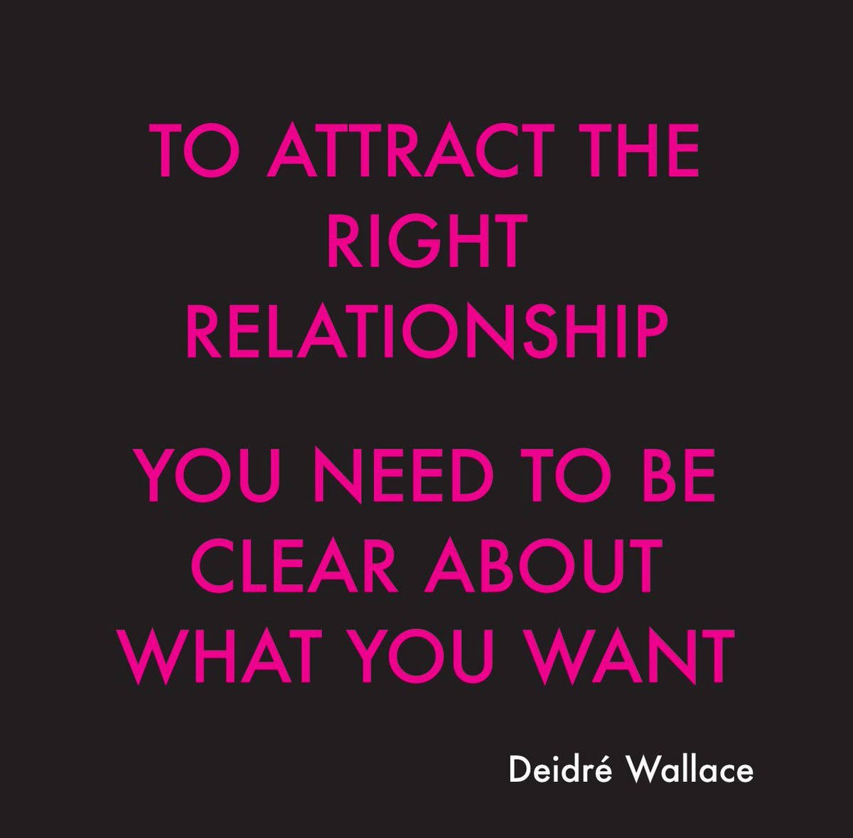 Have the relationship you want blog