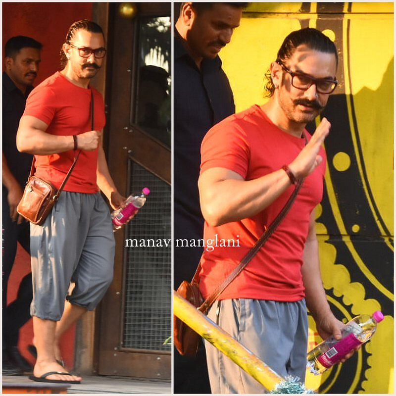 RT @morteza24839001: @aamir_khan  snapped post spa session in Bandra today 🔥😍😘 https://t.co/XbjXLgzSx4