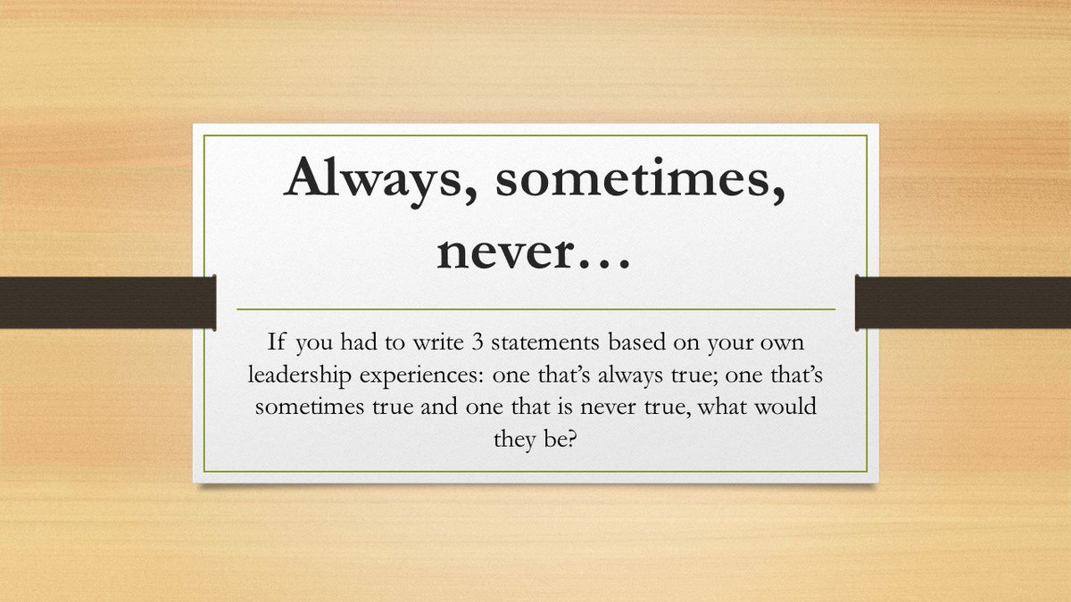 what are some leadership experiences
