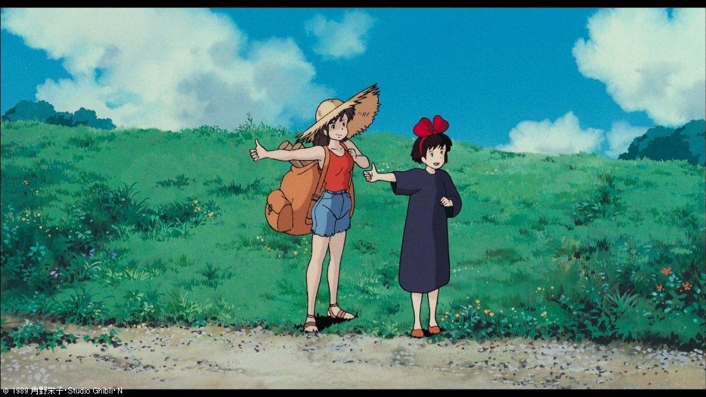 キキさん(13歳)が成長するとウルスラさん(18歳)になり、次におソノさん(26歳)、キキのお母さんであるコキリさん(37歳)、最後はケーキを焼いてくれた老婦人(70歳)へと成長していくということです。キキさんの未来を思い描けるようで素敵ですよね #kinro #魔女の宅急便