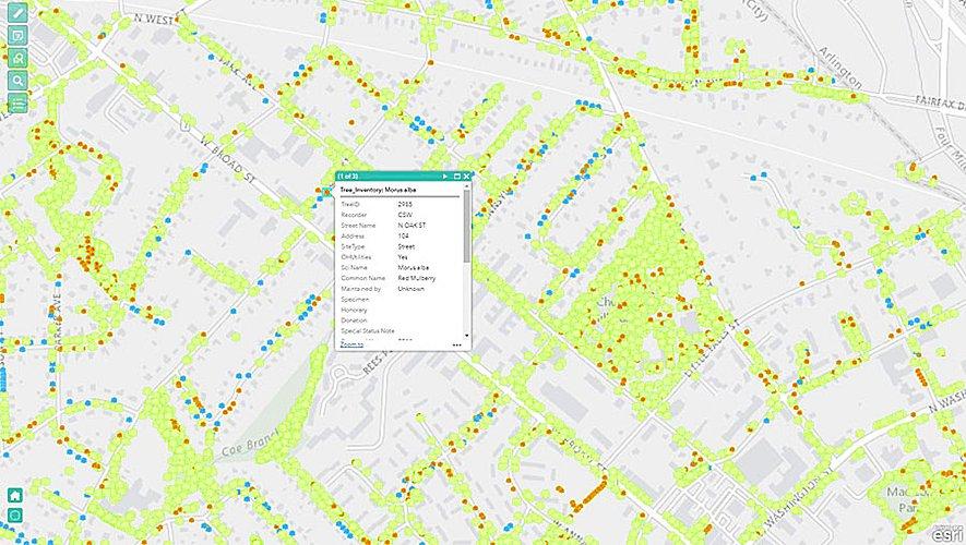Falls Church Virginia Map.Esri On Twitter Find How The City Of Falls Church Virginia Is