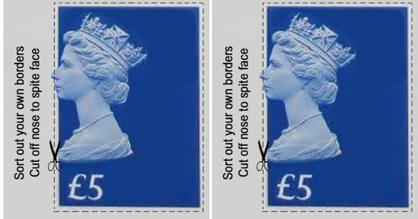 Blueprint for new Brexit stamps revealed...