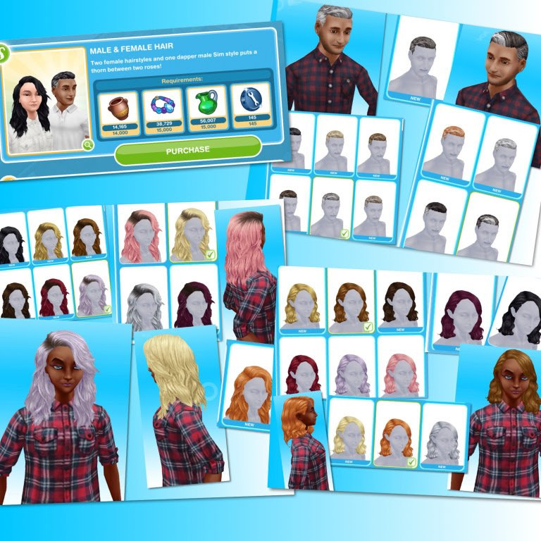 The Sims Freeplay On Twitter We Adore The Hair Salon