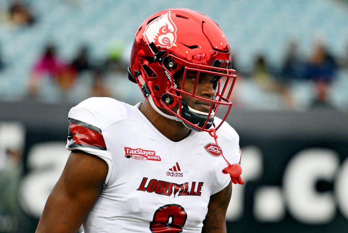 Former Heisman winner Lamar Jackson declares for NFL Draft