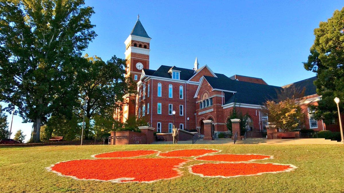 "Clemson University on Twitter: ""Proud to be among ..."
