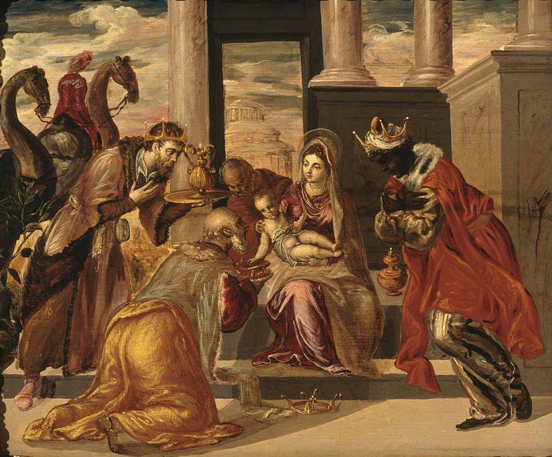 Gina Drieguez على تويتر L Adoracio Dels Reis Mags Per Giotto Di