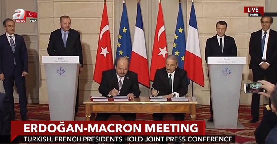 Daily Sabah Live Turkey And France Sign Defense Trade