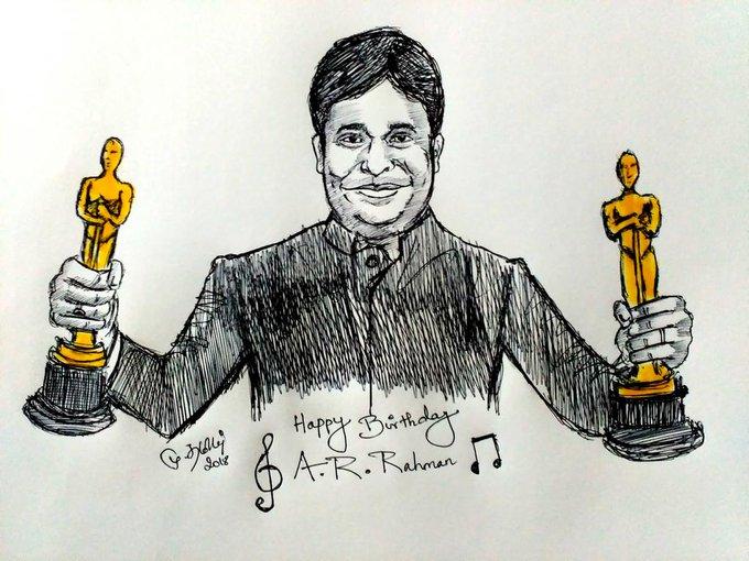 Advance happy birthday A.R.Rahman