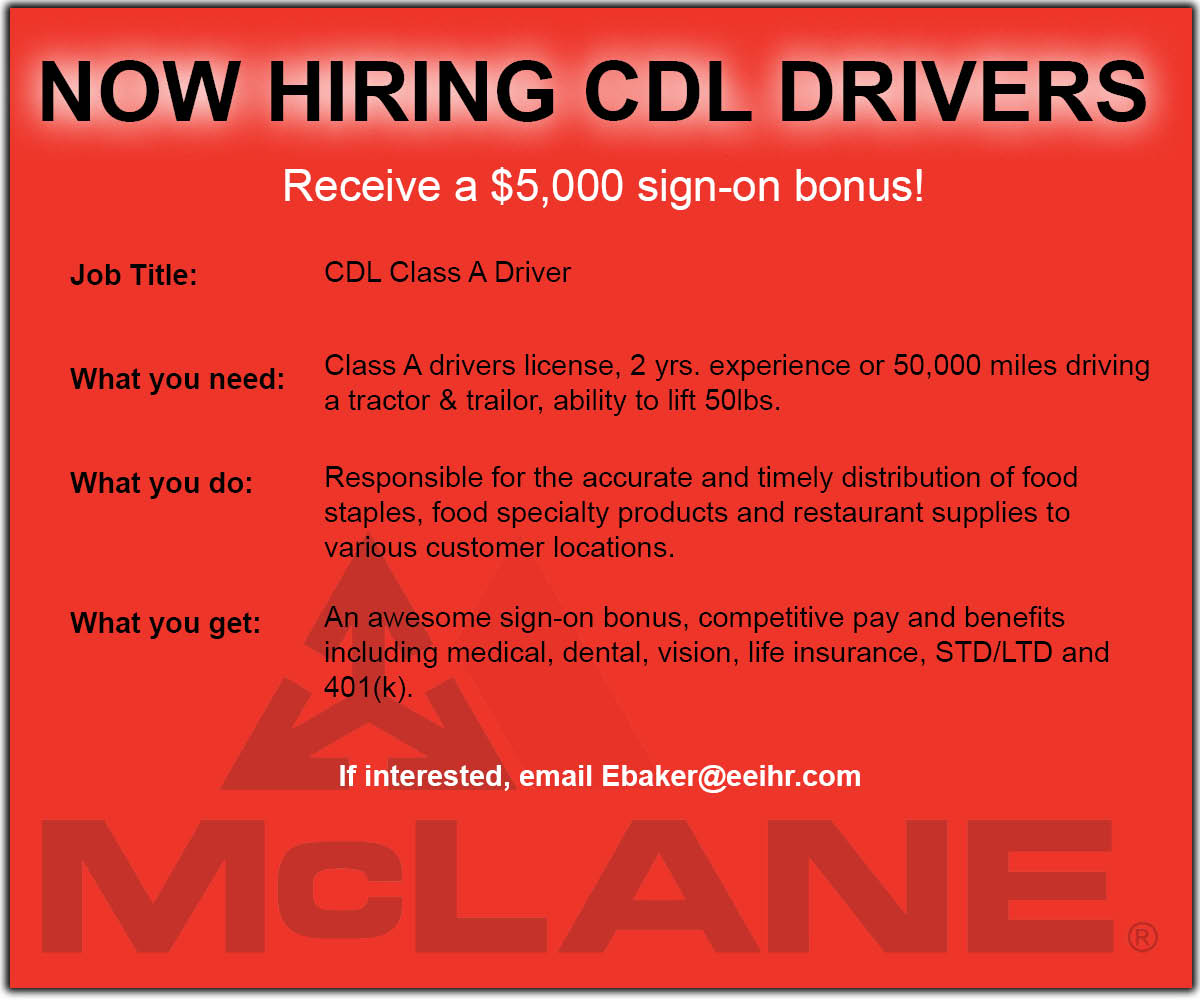 take a look at this job in manassas va send your resume to ebakereeihrcom or click the link httpbitly2e7nhdu cdl cdldrivers cdltruckdrivers