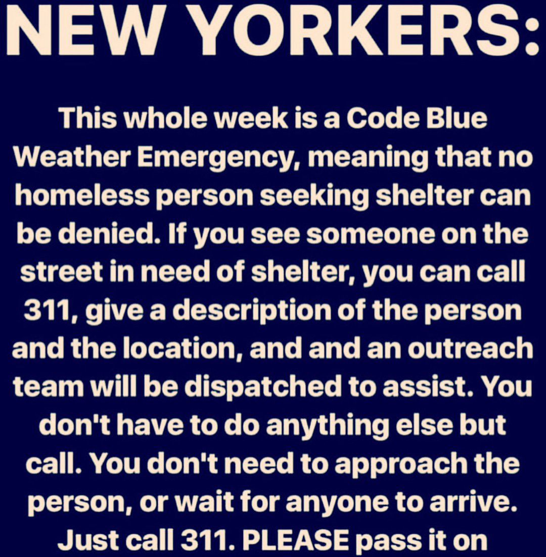 Homeless Memes And Blue New Yorkers This Whole Week Is A Code