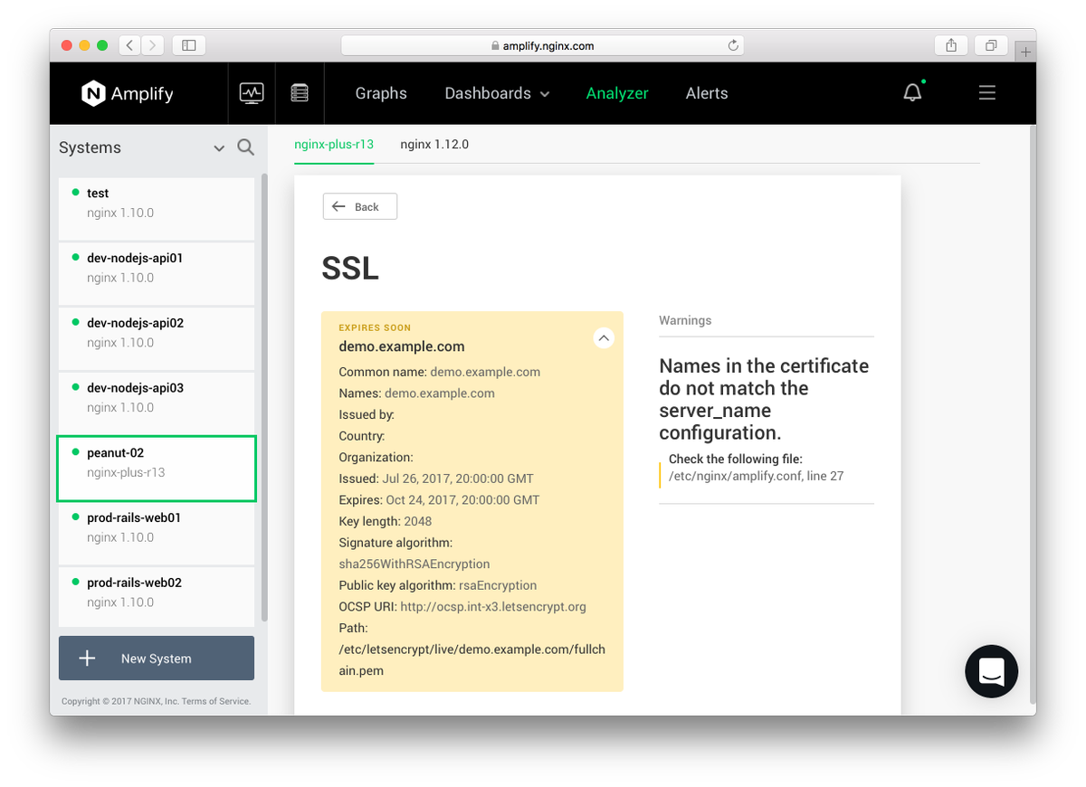 Nginx web server on twitter check your ssl configuration with nginx web server on twitter check your ssl configuration with amplify to see if there are issues with the ssl certificates or nginx config xflitez Gallery