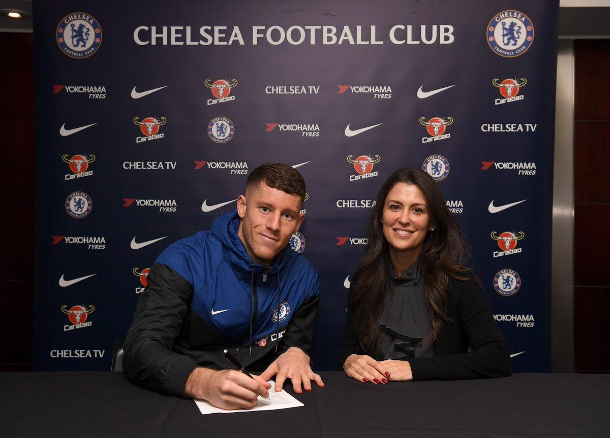 Welcome to Chelsea, Ross Barkley!   Full story 👉 https://t.co/yRzCCYobbd   #WelcomeBarkley
