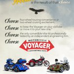 To another year of freedom, liberty, and the wind in your face! Choose four-wheel comfort or two-wheel excitement on the same motorcycle! Choose the @voyagertrikekit! #trikekits #usa #HappyNewYear