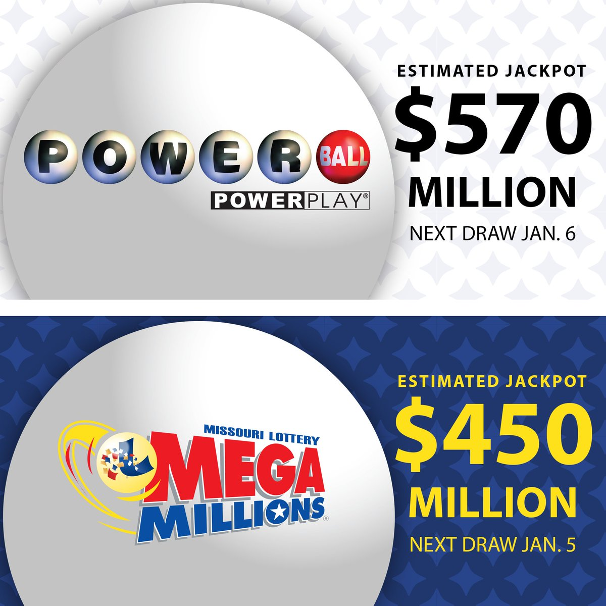 Mo Lottery On Twitter Jackpot Alert Both Powerball And