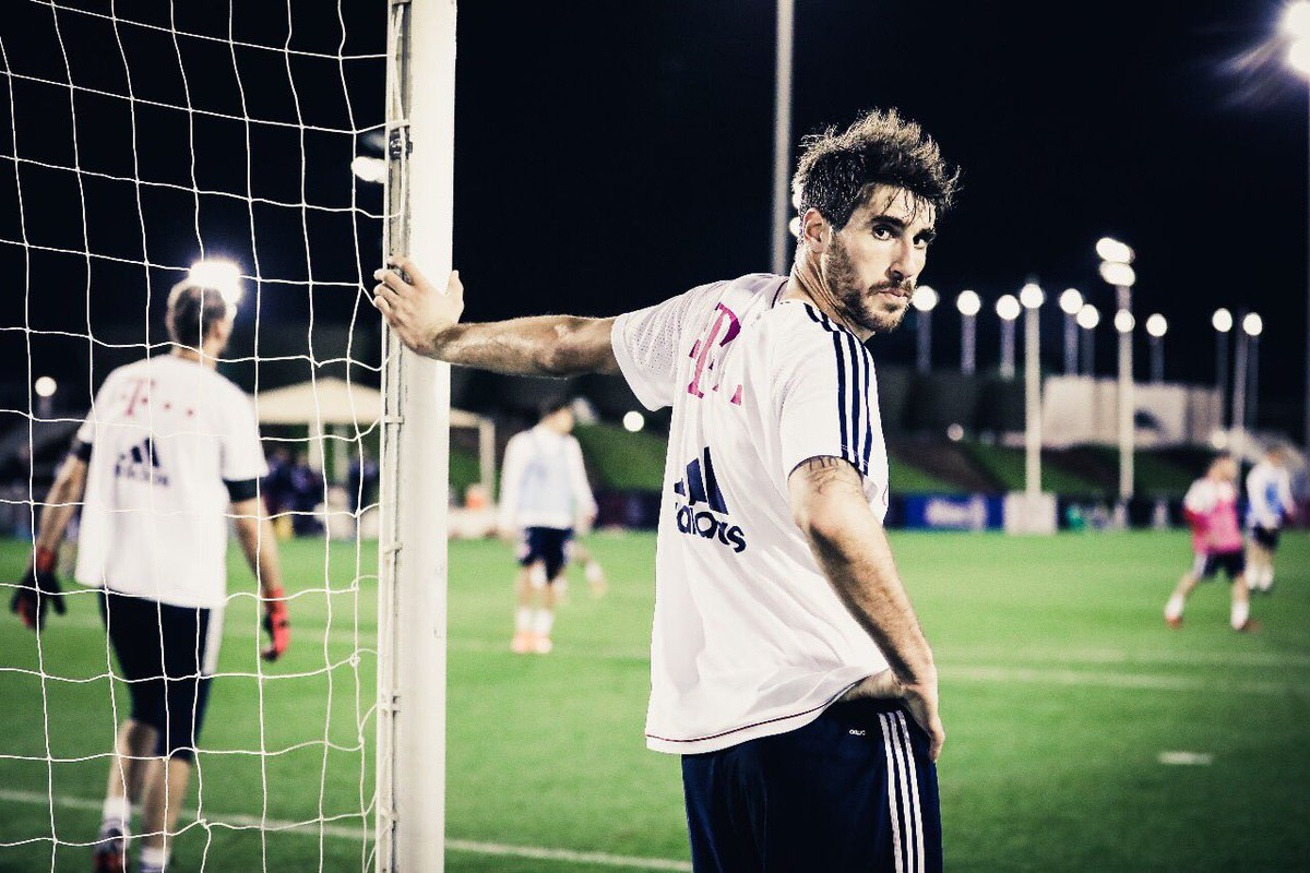 FOCUS! #Javi8 #training #packmas #fcbaye...
