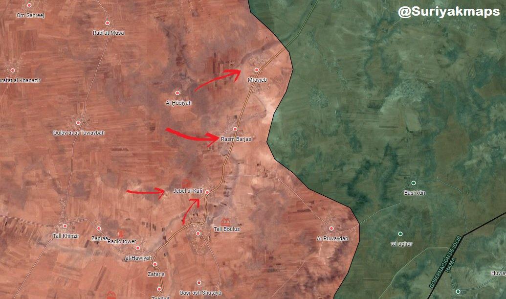Suriyak on Twitter Idlib SAA TigerForces liberated Ajaz