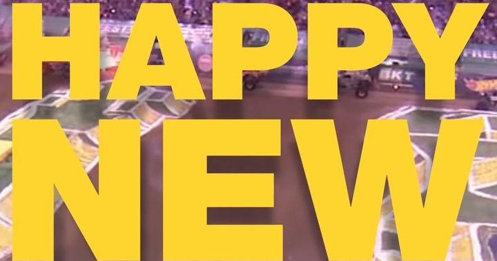 CHECK THIS OUT: Happy New Year message from @MonsterJam #MJNE #Contest - sot.ag/78HTq