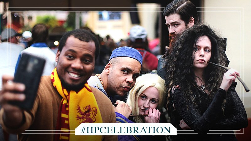 Where fans become friends, and friends become family.  #HPCelebration is coming. https://t.co/PTv25TFOAc